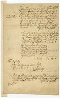 Bill and receipt, Barbados, 28 March 1716