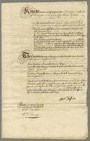 Bond from Christrs Jeaffreson Esqr to Chas Pym for payment of £200 Dated 22 Octr 1740 (docket title).