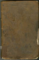 "Estate Accots. from the 30th. April 1767 to the 30th. April 1784 17 Years. (on rear cover and first 76 leaves, herein designated A). with, the volume turned and reversed: ""Estate Accots. from the 30th. April 1784"" (front cover and first 60 leaves, herein"