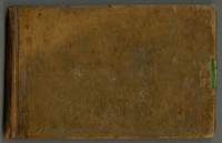 Notes on the West Indies. F. D. [St. Christopher] 1822. Blank book...