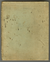 Private diary. January 1- April 14 1894. 23 x 18 cm. Written in pencil. Box 21