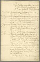 List of papers relating to Stores for Barbados and the Leeward Islands with what proceedings have been had thereupon. (docket title)