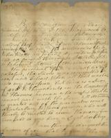 15 Mar 1734/5 From Judge Burt to mr Budgen to get Watts's Ballce from mr Truman.— (docket title)
