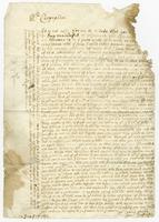 1692. 8 Nov. Christopher Jeaffreson to Mr. Cunyngham