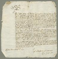 1692. 8 Nov. Christopher Jeaffreson to Captain Willett