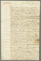 1695. 7 Dec. Christopher Jeaffreson to Captain Willett