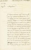 Martinique, 1 Dec. 1746. Ms. letter, signed, to Maurepas