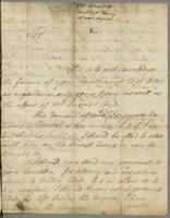 St Xts. 26 May 1748 From Lt. Genll. Fleming abt Watt's Negros &c. K (docket title).