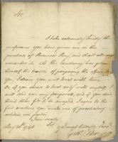 30 May 1748. ALS to Sq. Doctor Jarvis at Antigua