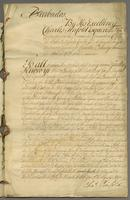 Barbados, 24 Aug. 1756. Ms., 29 p. 36.9 cm… [Copy of a petition]
