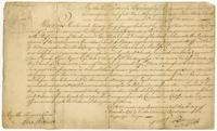 Comission of Coll. of Forts etc. in Nevis. (docket title)