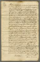 Contract of Marriage Betwixt Iames Douglas of Bridgend Esqr. And Miss Helen Brisbane. 18 april. 1753 (docket title)