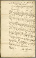 7th Augt. 1755 Committee Order for staying proceedgs. in Mr. Price's last appeal. (docket title)