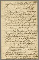 Antigua, 22 July 1758. ALS to Davenport and Wentworth...