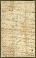 Admiral Frankland rece'd 29t Feby 1759 Answerd 3d March 59 (docket title)
