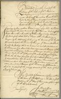 Extract out the record of the Sentence of the Island of St. Martins...