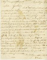 London, 12 Jan. 1759. Ms. Letter to Davenport and Wentworth,...