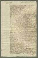 1697. 30 Jan. Christopher Jeaffreson to Captain Willett
