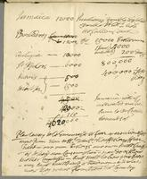Estimate of rum and duties for Jamaica, Barbados, Antigua,…