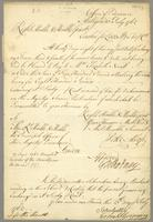 Antigua, 13 July 1762. Ms. Bill of exchange
