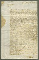 1697. 9 Feb. Christopher Jeaffreson to Captain Matthew