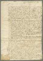 1697. 13 Nov. Christopher Jeaffreson to Captains Willett and Burrell