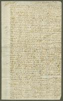 1697. 27 Nov. Christopher Jeaffreson to Captain Burrell