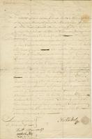 Bill of Sale for the Brigg Free Mason. (docket title)