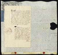 Mr Chistopher Ieffreson Esqr. to Charles Pym Esqr. } A Further Mortgage for 800l. of a plantation pt. at St. Christophers (docket title).