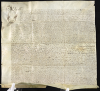 My Lady Bendyshe's Declaracon concerning Bidemill House plantacon 1678. (docket title)
