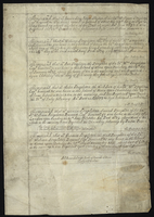 """Memorandm, that mr: Iames Stapleton, the Son of his Excie:William Stapleton Captt. Generall &c Was borne upon this Island of Nevis the 24th. day of Septr. …"