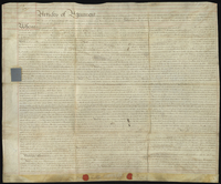 Articles of Agreement and Authority relating to the Purchase of Lands and Plantations in the Island of Grenada between John Anthony Rucker Esqr. and John Harvey Esqr. } (docket title)