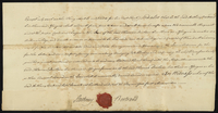 Anthony Bertrand Esqr. to Mr. Thos. Durham } Feoffment of Town Lot No. 25 buildings. (docket title)