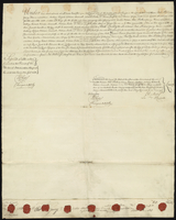 La Rauchelle to Wm Bell Esqr and ors. } Release. (docket title)