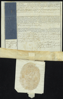 Probate of the Will of Abraham Cumberbatch Esqr deceased Dated 23d November 1796. (docket title)