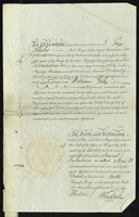 Edmd Fleming Akers Esqr and Frances his Wife to Messrs Evan Baillie and Sons } Mortgage of a certain Plantation in The Island of St Christopher called Olivers with the Negroes and Slaves therein for securing £6800 and interest and future advances (docket