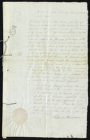 "Another copy, the same; affidavits: also signed ""Elizabeth..."