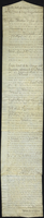 Anglia. Mather Byles Esquire Acting Resident Commissary in Grenada from the 25° December 1795 to the 23d February 1798. (docket title)