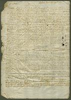 1697. 27 Nov. Christopher Jeaffreson to Captain Willett