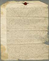 1700. 22 Oct. Christopher Jeaffreson's copy, in his own hand, of his will
