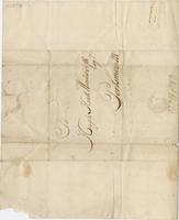 Hall, Charles, fl. 1767. Barbados, 25 Sept. 1767. ALS to Hugh...