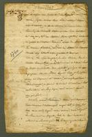 Surveyor's report with map and signed receipt] Martinique, 13 March 1768