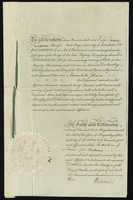 Christr. Jeaffreson Esqr to Mr. William Johnson } Release to bar Estates Tail etc. in a plantation in the Island of Saint Christopher called Wingfield Manor (docket title), March 6, 1793 / (with) p) Christopher Jeaffreson Esqr. to Mr. William Johnson } Le