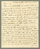 1815. 25 Oct. Robert William Pickwood to Christopher Jeaffreson...