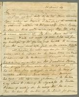 1819. 25 March. John Tyson to Christopher Jeaffreson...
