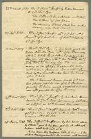 1756? Abstract of ye Title of Chrisr. Jeaffreson Esqr to a Plantation called Wingfield Manor in ye Parish of St. Thomas in the Island of St. Christophers (docket title).