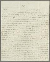 1822. 25 Oct. John Hopton Forbes to Christopher Jeaffreson...