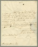 1756. 10 Oct. James George Douglas to Christopher Jeaffreson...