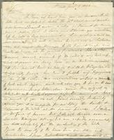 1822. 16 Jan. John Tyson to Christopher Jeaffreson...