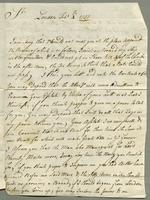 1757. 4 Feb. Robert Savage to Christopher Jeaffreson